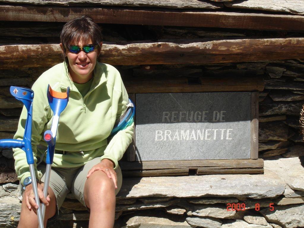 Le refuge de Bramanette